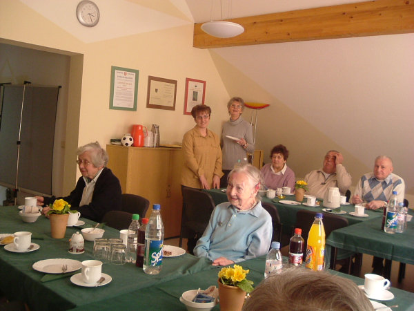 Seniorenkaffee in der Klöndiele am 10.03.2007